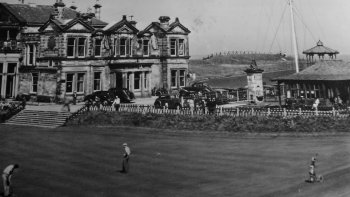Old Photograph Old Course St Andrews Scotland